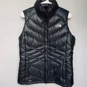The North Face Black 550 Geese Down Puffer Vest